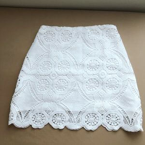 Cute Lace fabric skirt from Abercrombie & Fitch